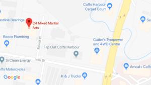 C4 Brazilian Jiu Jitsu and Mixed Martial Arts Location