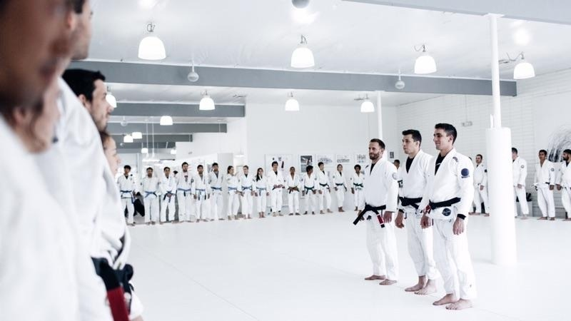 BJJ Clubs White Gi Only