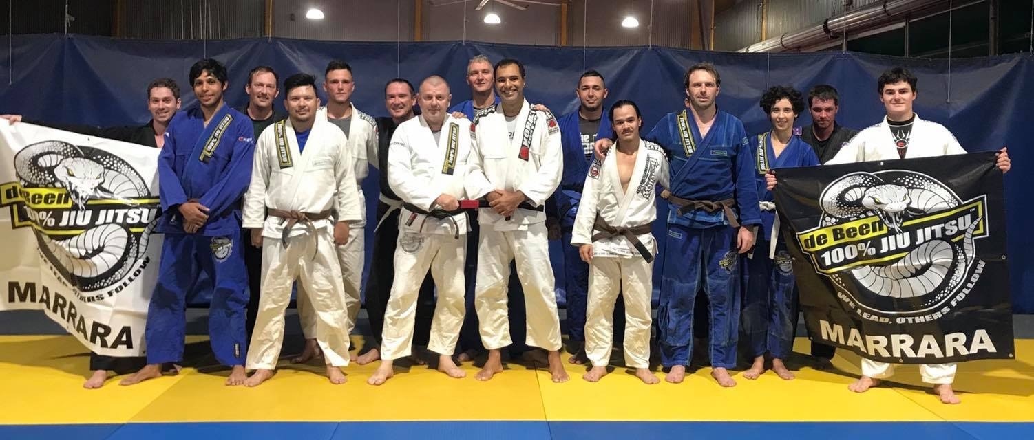 De Been 100 Jiu Jitsu Marrara