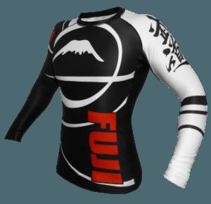 Fuji Freestyle IBJJF Long Sleeve Rash Guard Black Side View