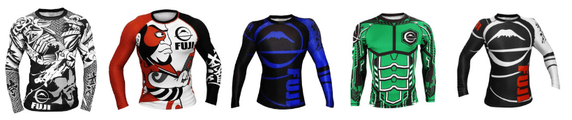 Fuji Japenese Art BJJ Rash Guards Australia
