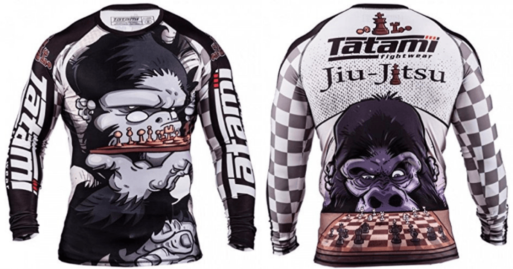 Tatami Chess Gorilla BJJ Rash Guard Australia from Amazon