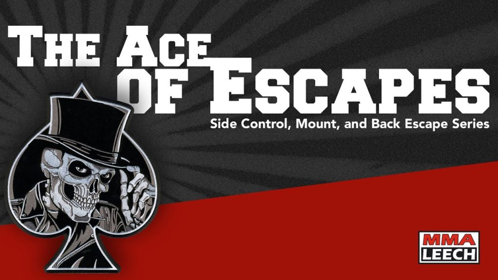BJJ Techniques Checklist - The Ace of Escapes by MMA Leech