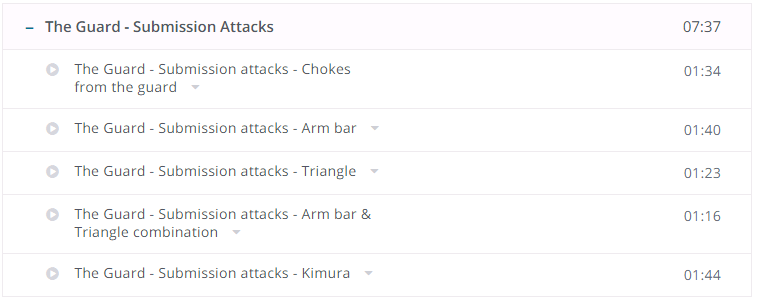 The Guard - Submission Attacks