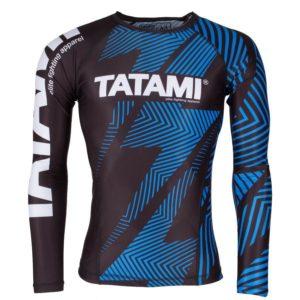 Tatami Ranked Rash Guard Blue