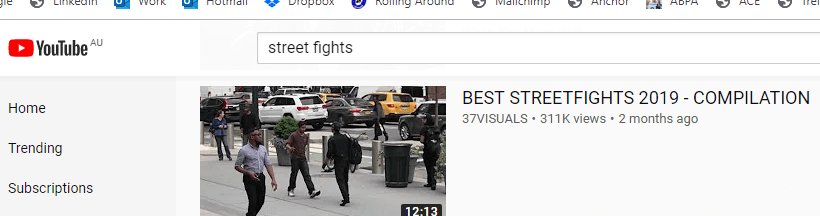 YouTube Fights Search Term Results