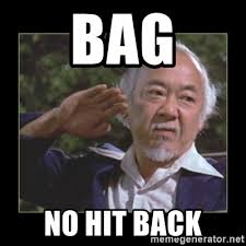Bag No Hit Back - Mr Miyagi